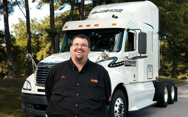 Featured Dedicated Driver Tim Marino