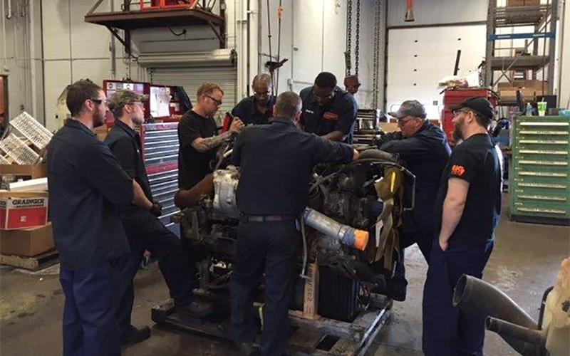 Schneider Diesel Mechanics