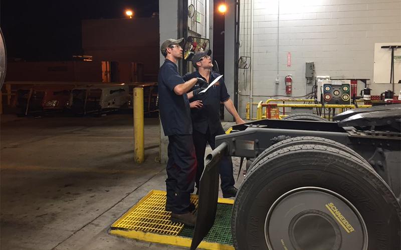 Schneider Diesel Mechanic Mentorship First Months