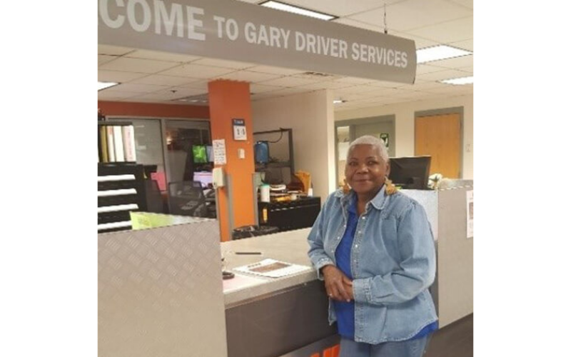 Gary driver services desk