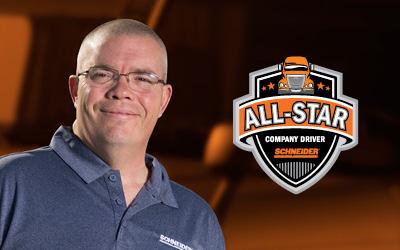 Schneider All-Star Driver Elliot Connor