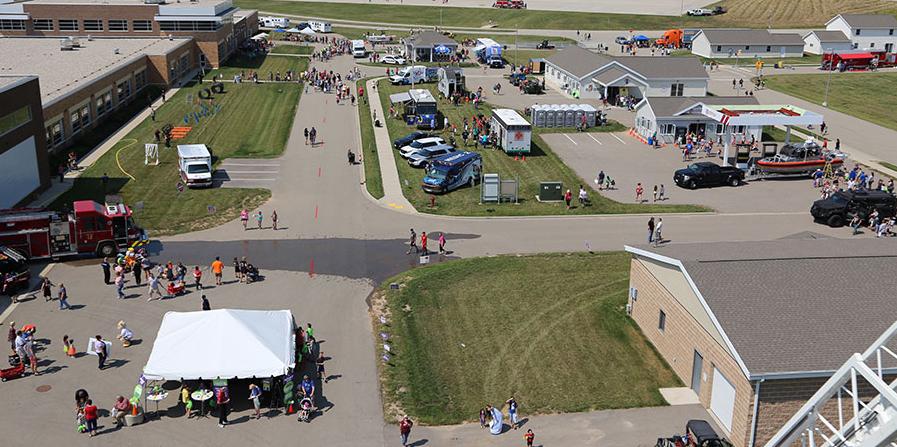 Fox Valley School aerial shot