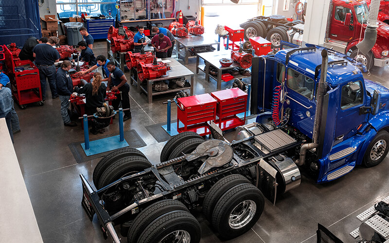 We interviewed Ian Hardie at Universal Technical Institute to learn how long it takes to become a diesel technician for someone who gets a college degree.