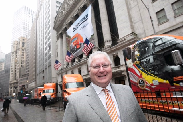 Schneider CEO Chris Lofgren