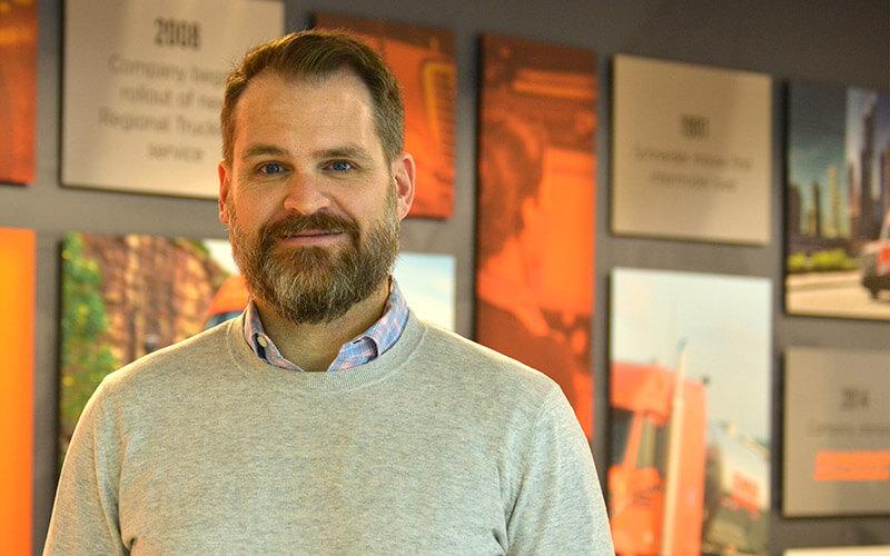 Headshot of Jeff Hujet.