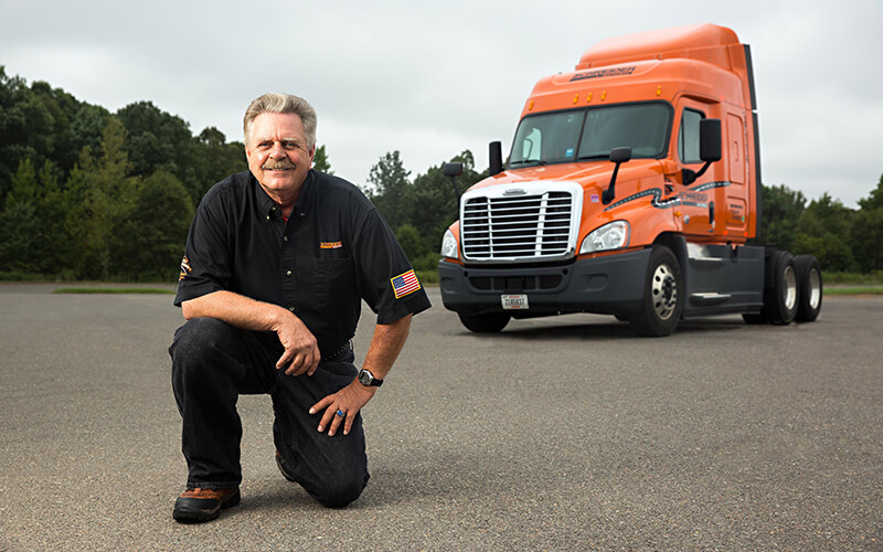 Featured Intermodal Driver Kevin Lawrence
