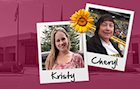 Kristy and Cheryl, Schneider Associates