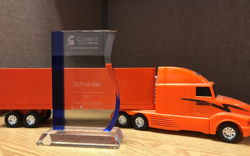Schneider Wins Next Generation Best Place To Work Award