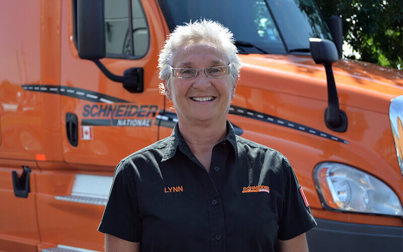 Featured OTR Driver Lynn Lavallee