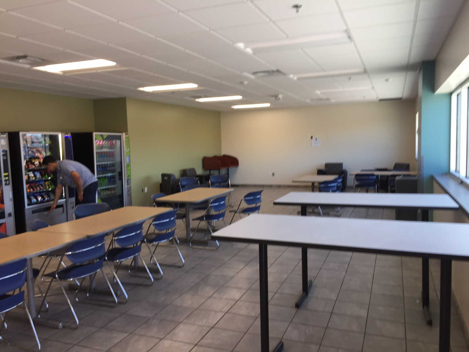 Schneider Phoenix Facility Break Room