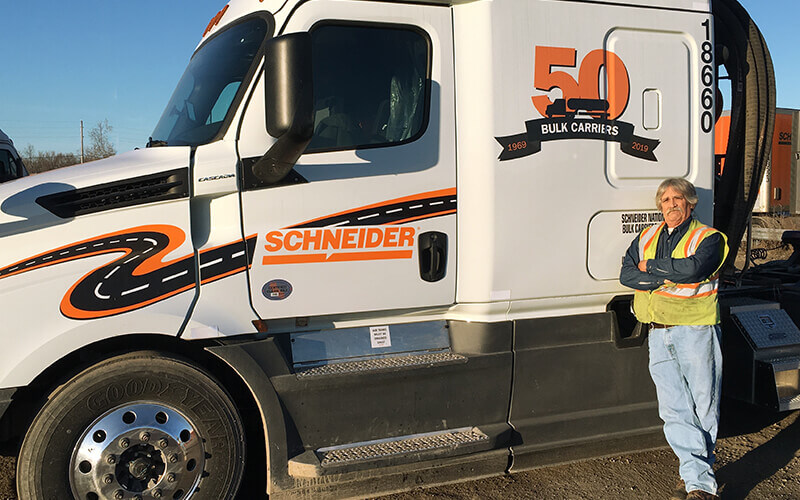 Ralph Vesley Schneider Tanker Driver