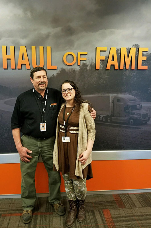 Rod posing with his daughter, Meagan