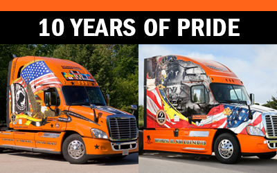 Schneider Ride of Pride Trucks