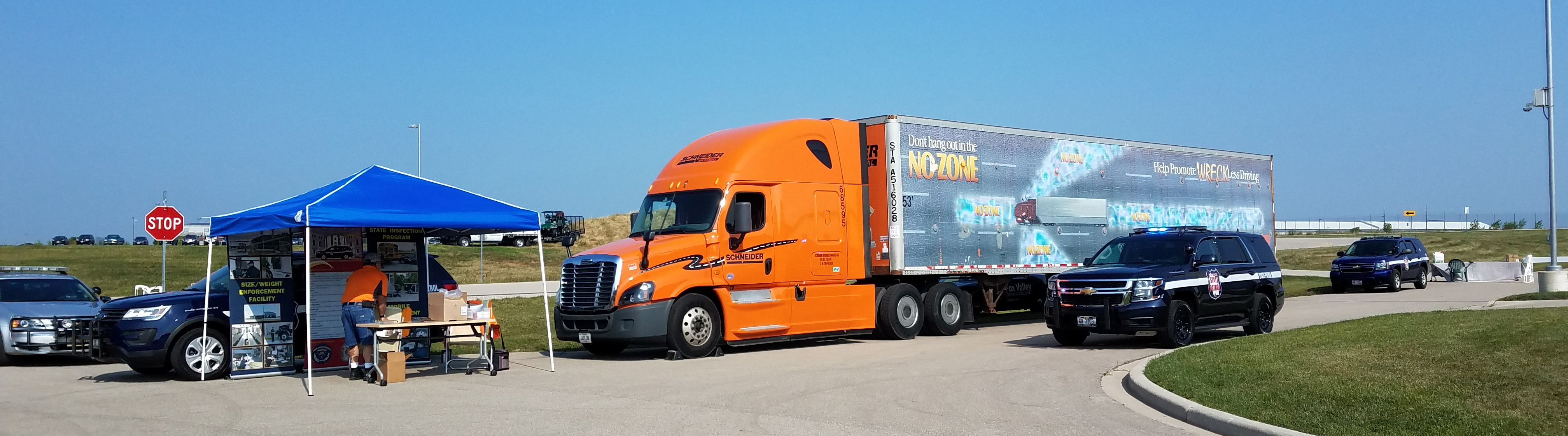Schneider truck set up