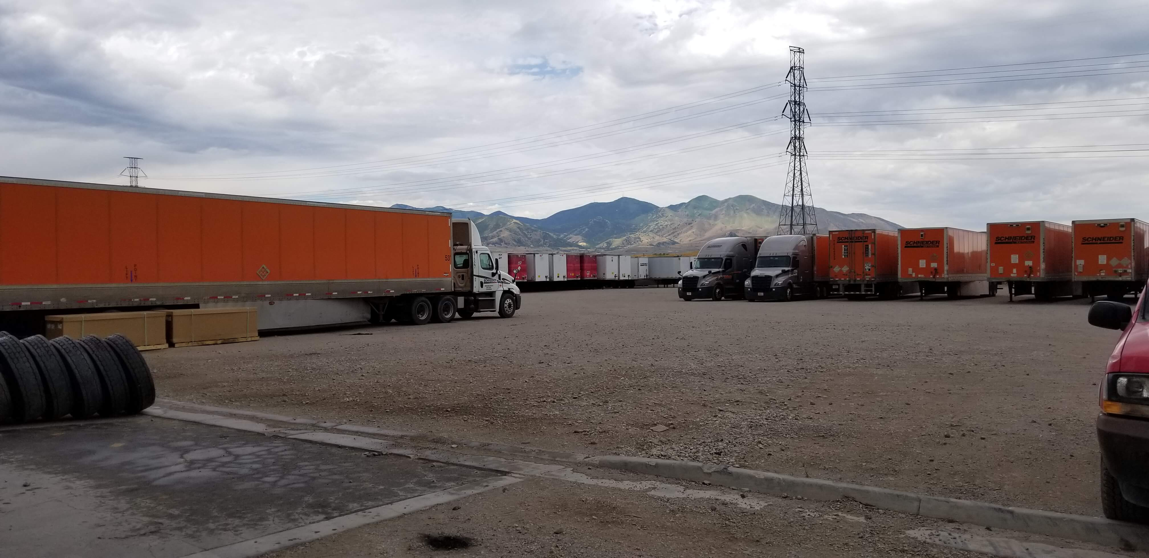 Salt Lake City Facility Yard