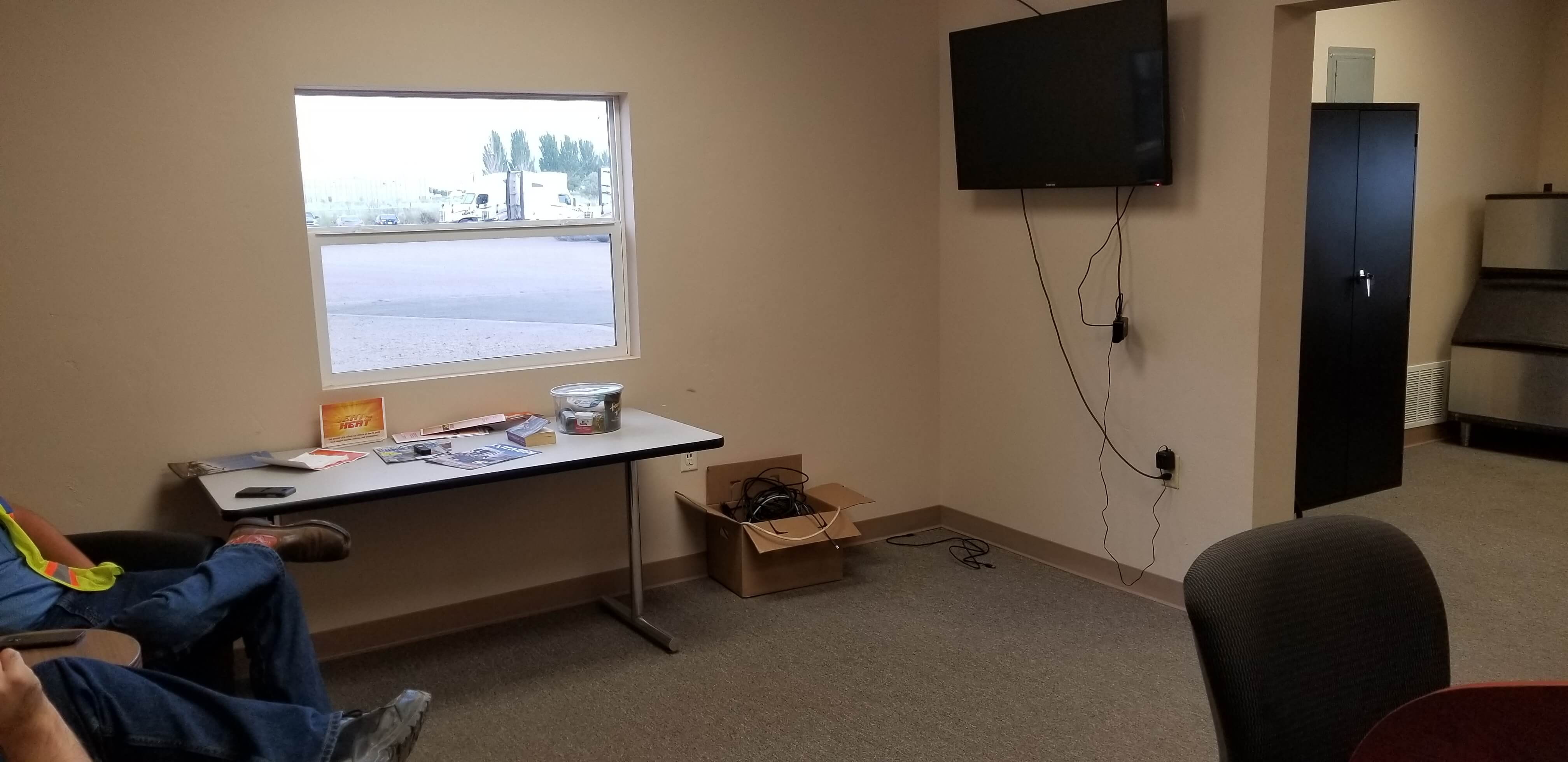 Salt Lake City Facility Driver Lounge