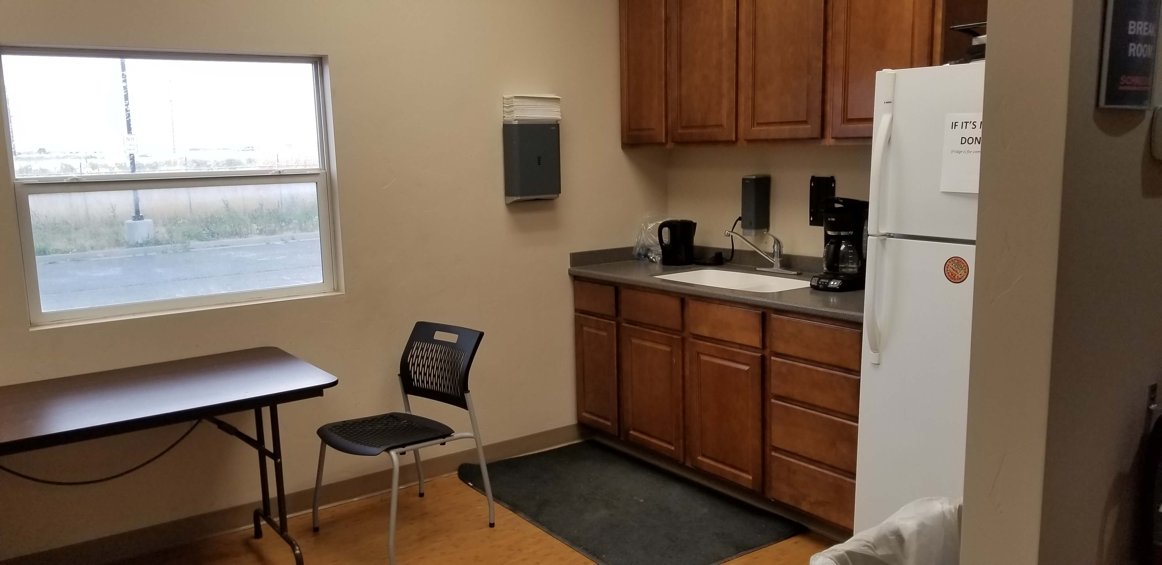 Salt Lake City Facility Kitchenette