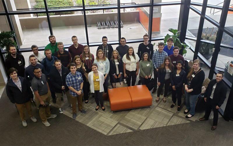 Between 70 and 90 students partake in Schneider's internship program each year.