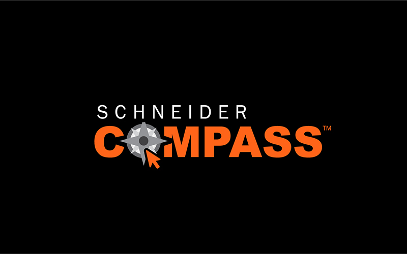 Schneider Rate My Location feature on Compass App