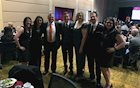 Schneider Employees accept 2017 Next Generation Best Place to Work Award
