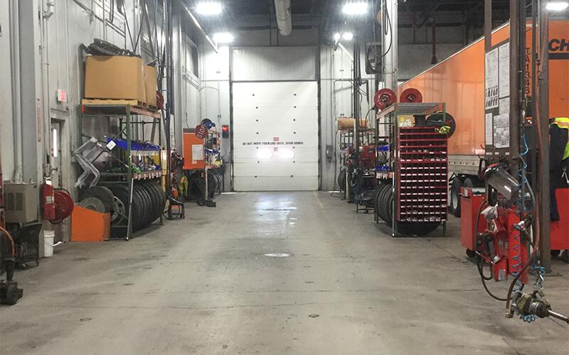 Schneider Tire Shop Bay