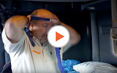 Schneider driver with CPap mask