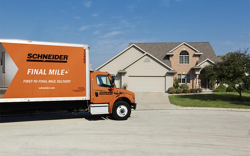Schneider Straight Truck Driving Jobs