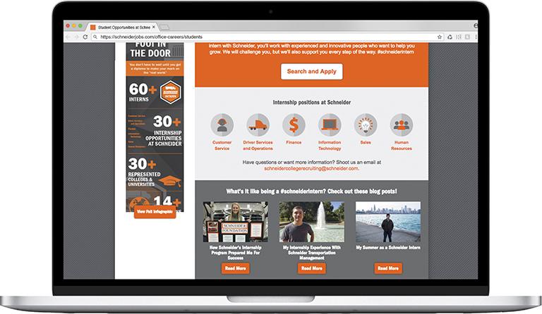 Schneider Office Website Design