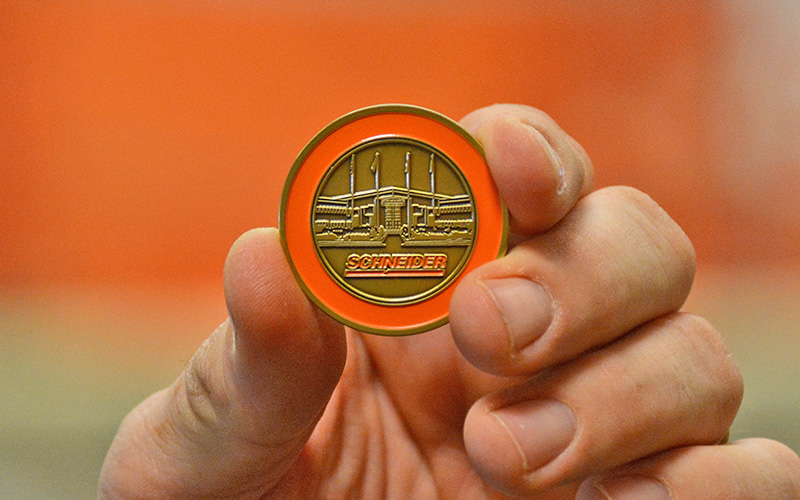 Schneider Value Coin Front