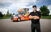 2016 Ride of Pride truck and driver