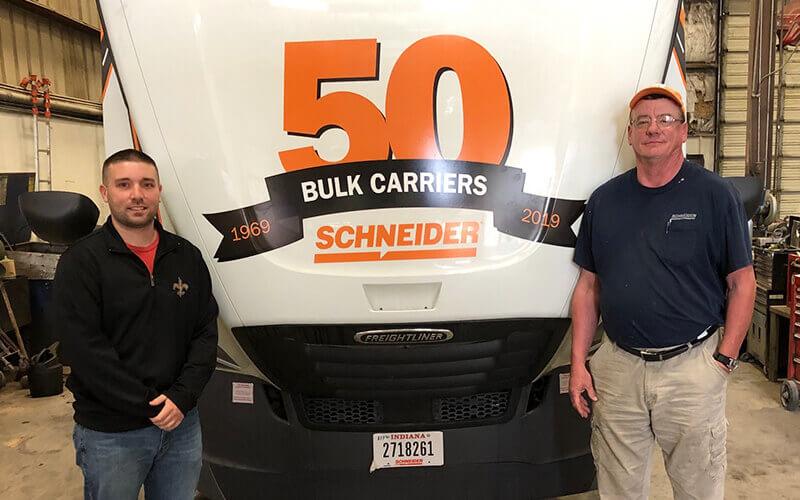 Will Morehead Schneider Tanker Driver