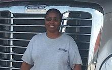 Schneider truck driver Melissa