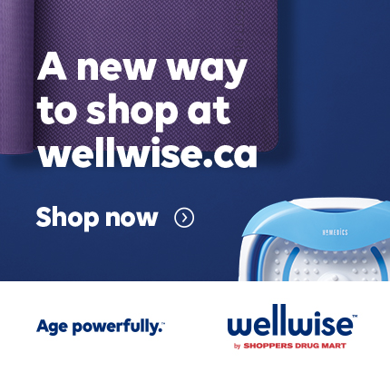 A new ay to shop at wellwise.ca