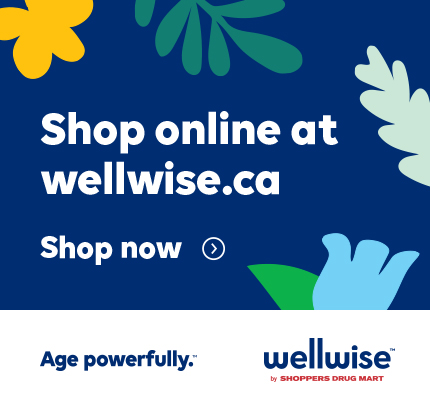 Shop Online at Wellwise.ca