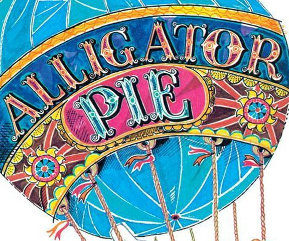 ALLIGATOR PIE BOOK