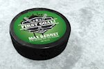 New!  Hockey Puck Stickers on StickerYou