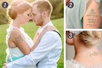 Top Wedding Temporary Tattoos-You Need to See!