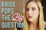 Bride Pops The Big Question