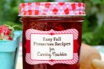 Easy Fall Preserve Recipes for Canning Newbies
