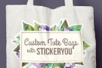 Create Custom Tote Bags with StickerYou!