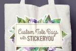 Create Custom Tote Bags with StickerYou!